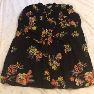 Old Navy laced neck swing dress